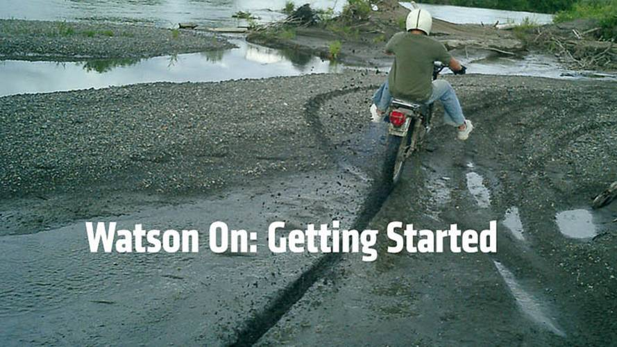 Watson On: Learning To Ride A Motorcycle