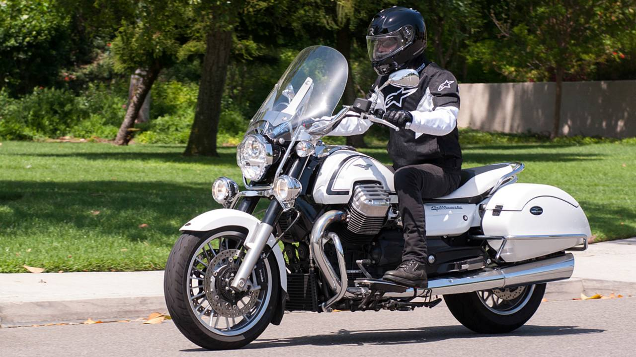 RideApart Review: Moto Guzzi California 1400 Touring