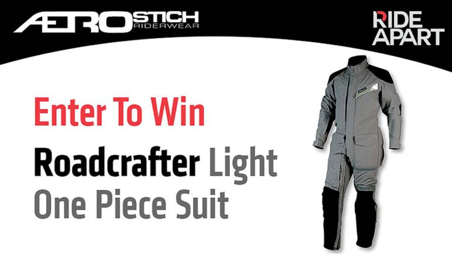 Enter To Win an Aerostich Roadcrafter Light One Piece Suit