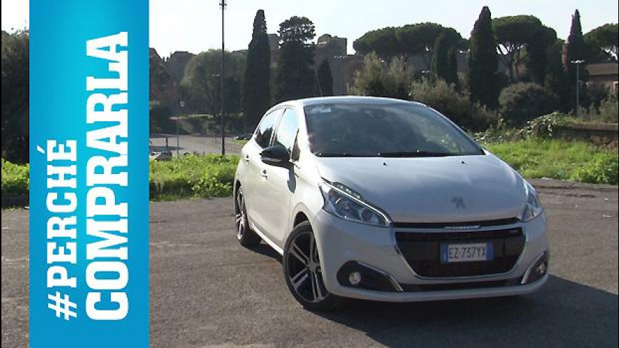 Peugeot 208, perché comprarla... e perché no [VIDEO]