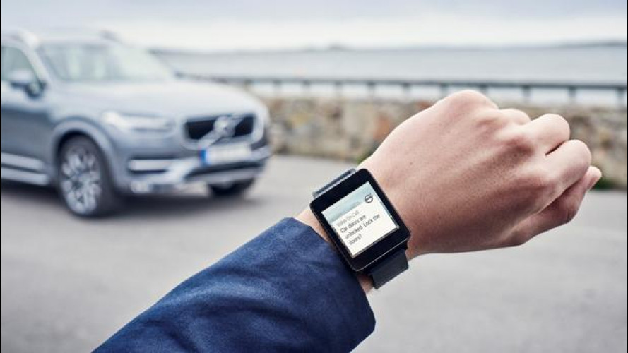 Volvo On Call, smartwatch e auto sempre connessi