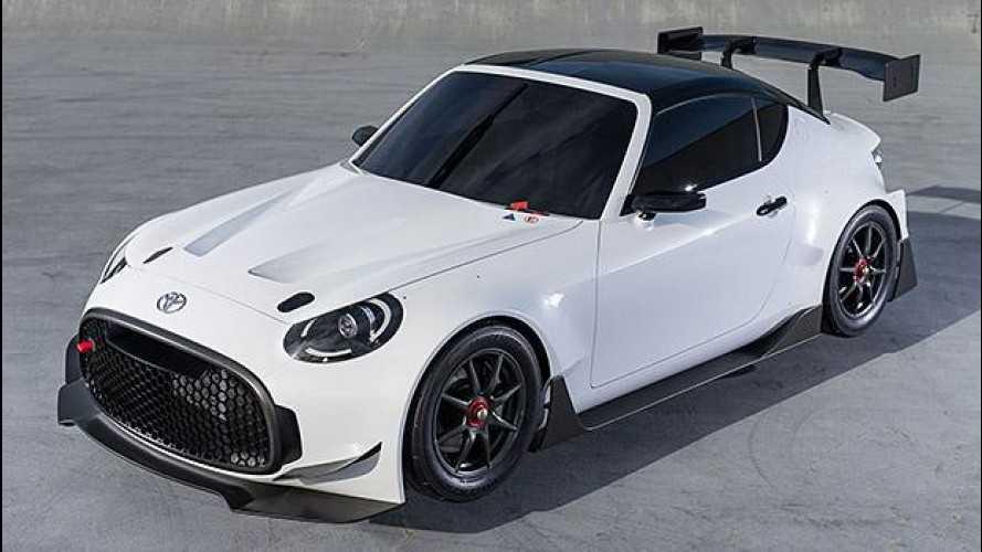 Toyota S-FR Racing Concept, lei vuole correre