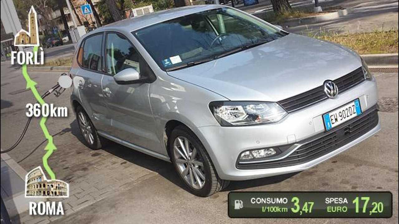 [Copertina] - Volkswagen Polo 1.4 TDI, la prova dei consumi reali