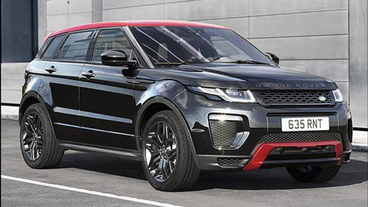[Copertina] - Range Rover Evoque Ember Special Edition, il rosso e il nero