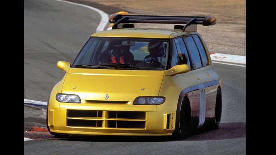 Renault Espace F1 Concept (1994) - Le plus extrême des monospaces