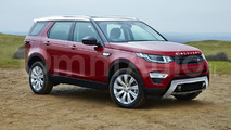 Land Rover Discovery rendering