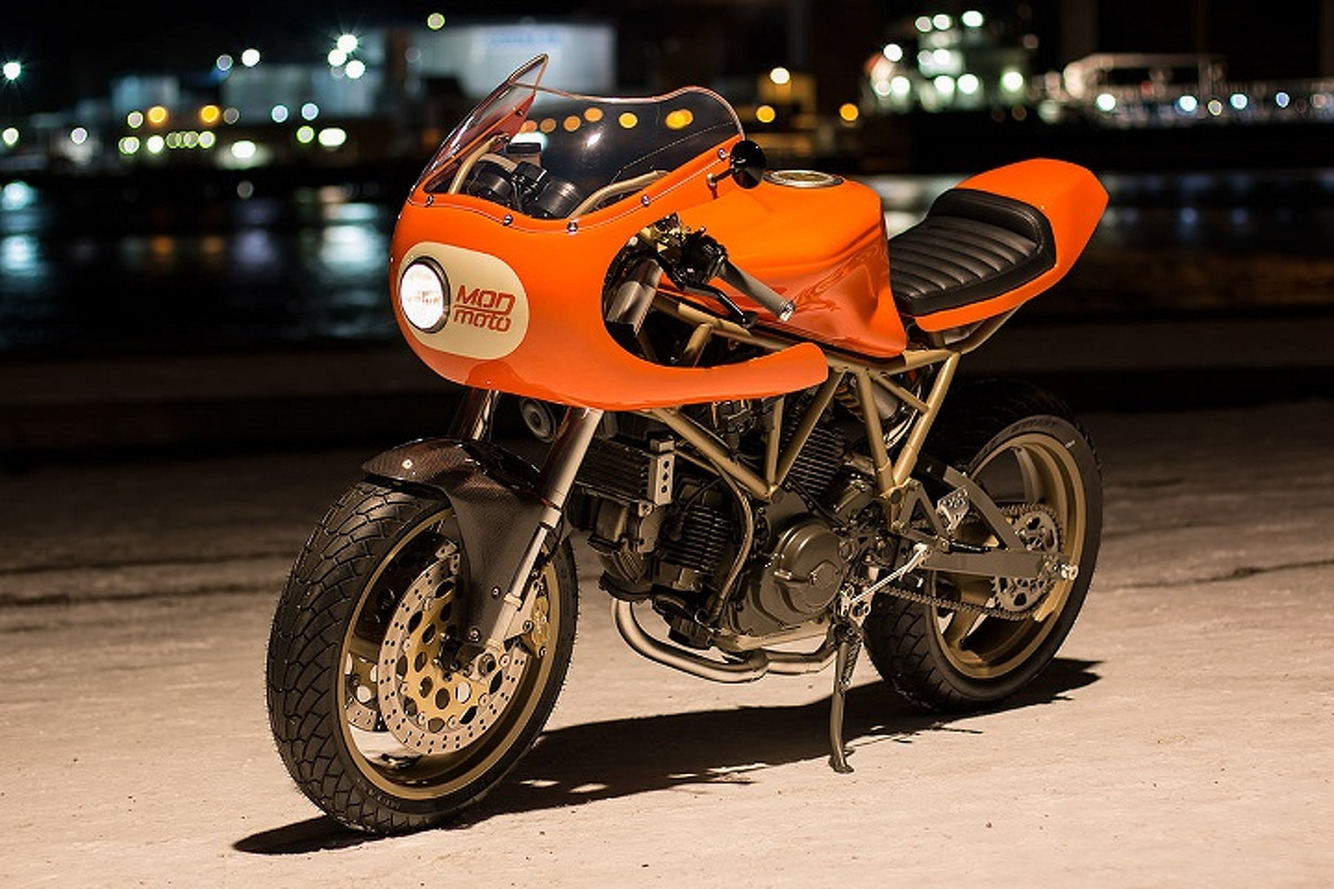 Mod Moto's Ducati 750SS is an Orange Wonder