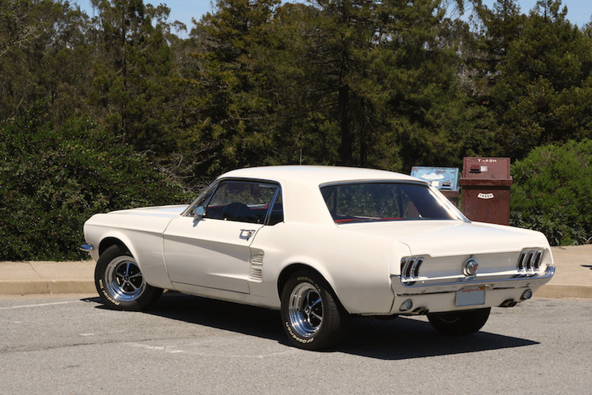 Forget the fastback this 1967 mustang gt notchback is for the working man