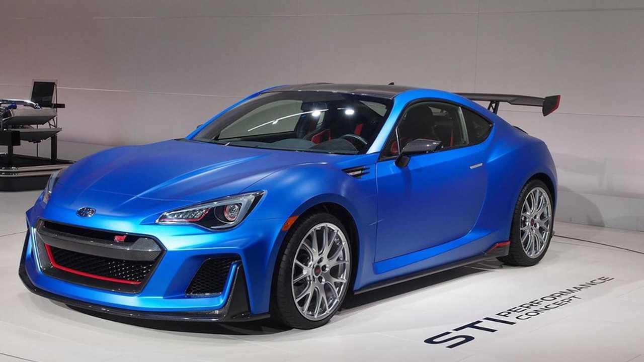 Subaru STI Performance Concept at 2015 New York Auto Show