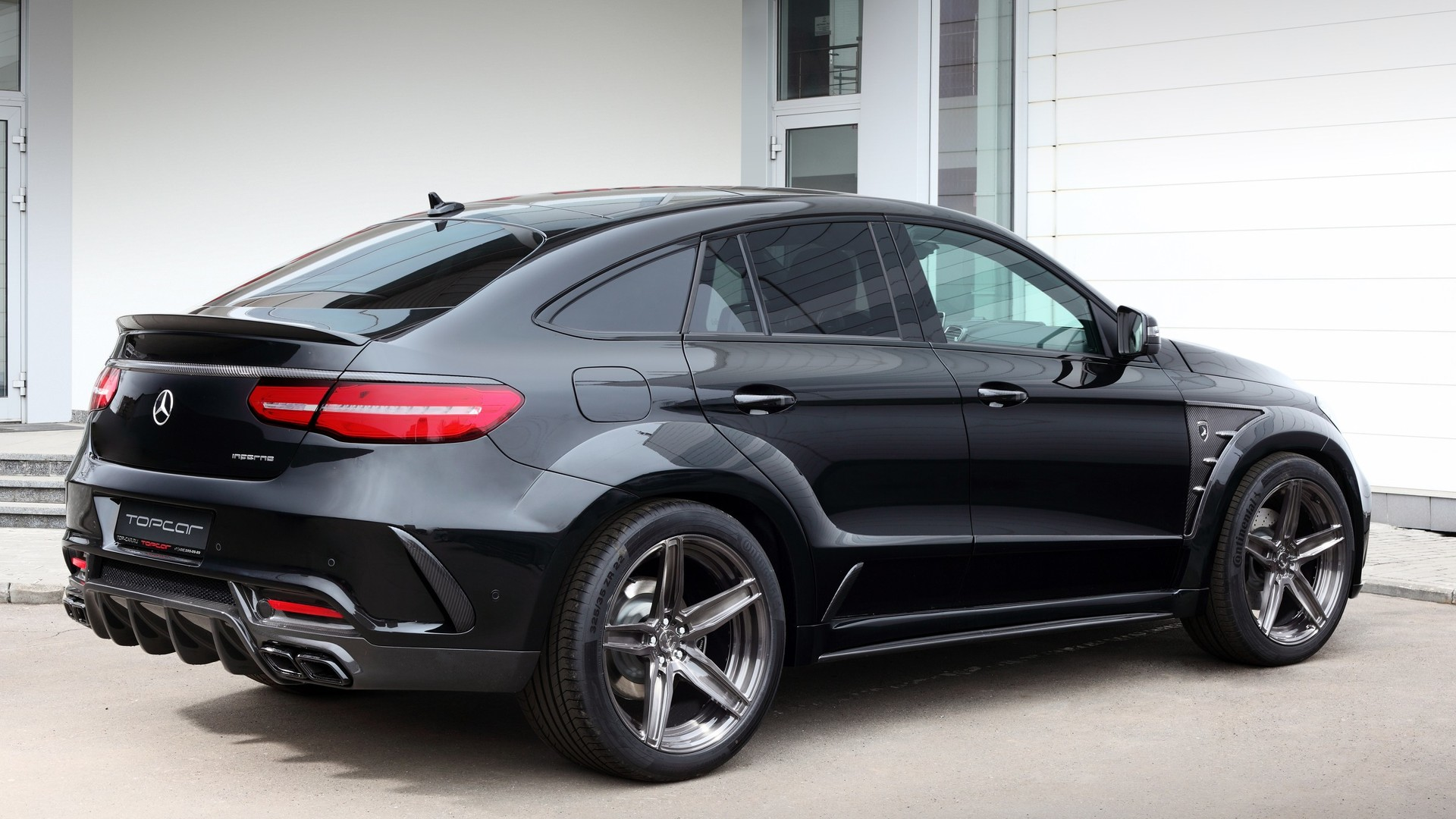 mercedes gle coupe gets heavy dose of tuner steroids