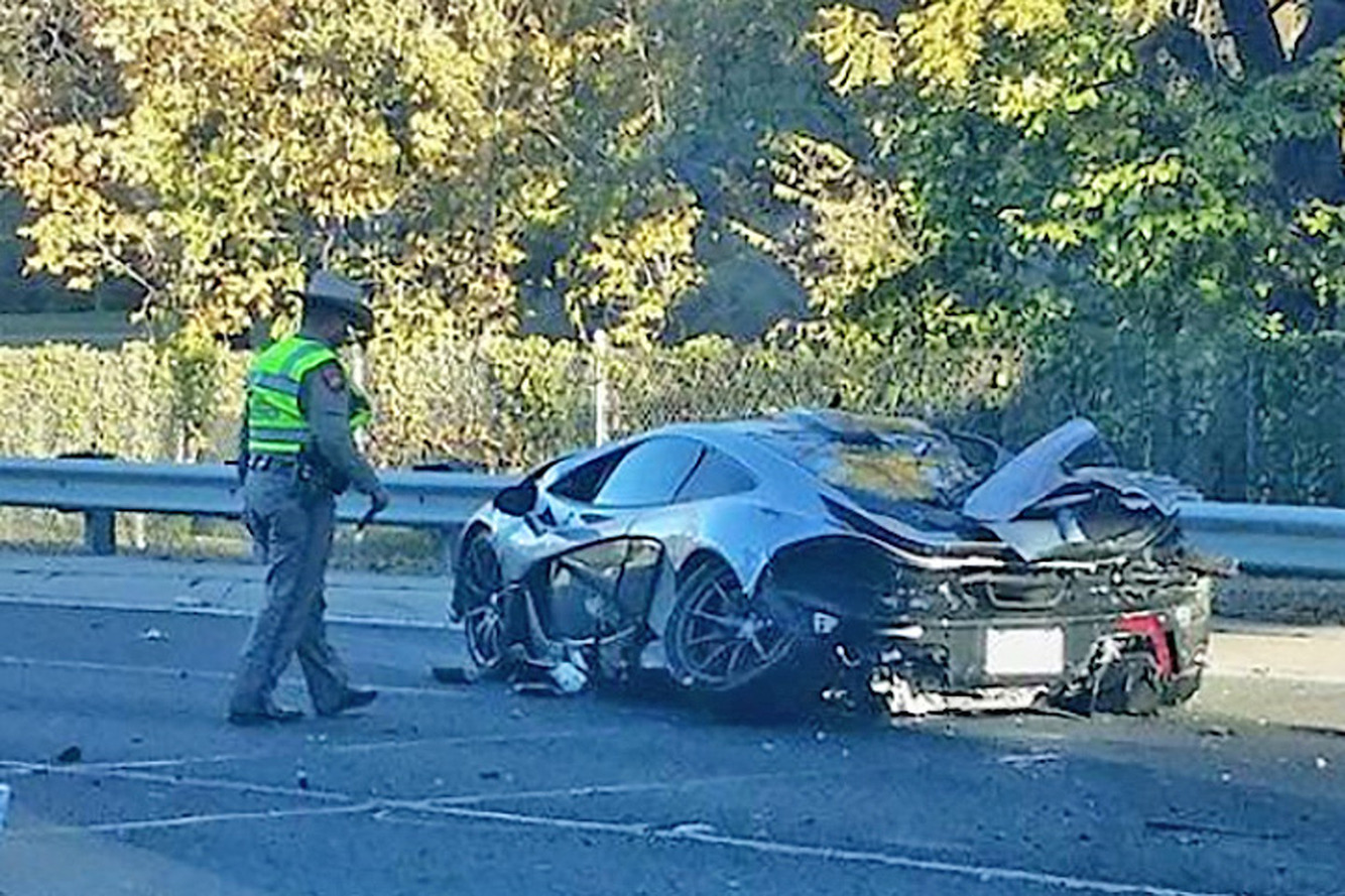 McLaren P1 Crash Gives Owner a Black (and Blue) Friday