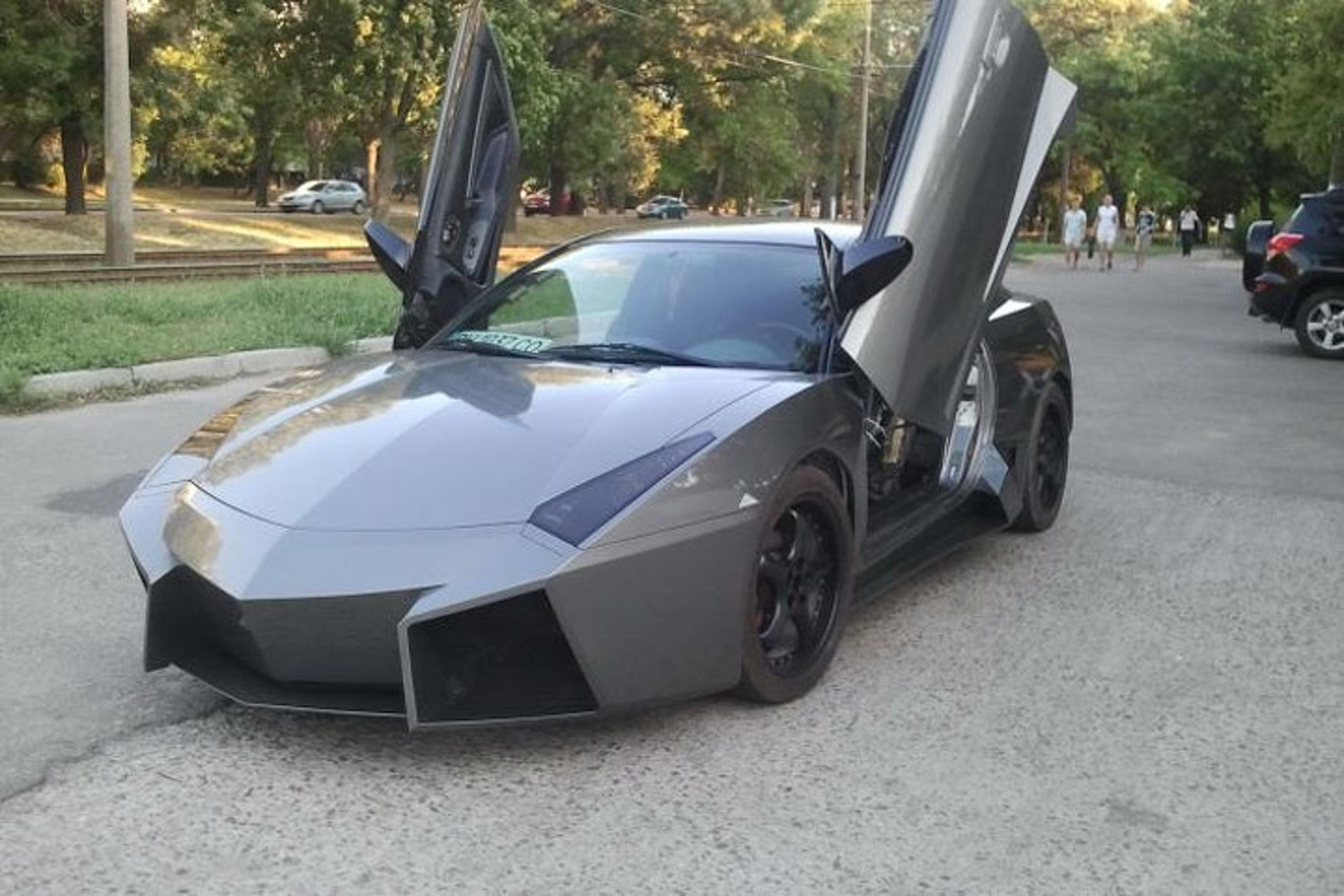 Remember When a Guy Turned a Mitsubishi into a Lamborghini?