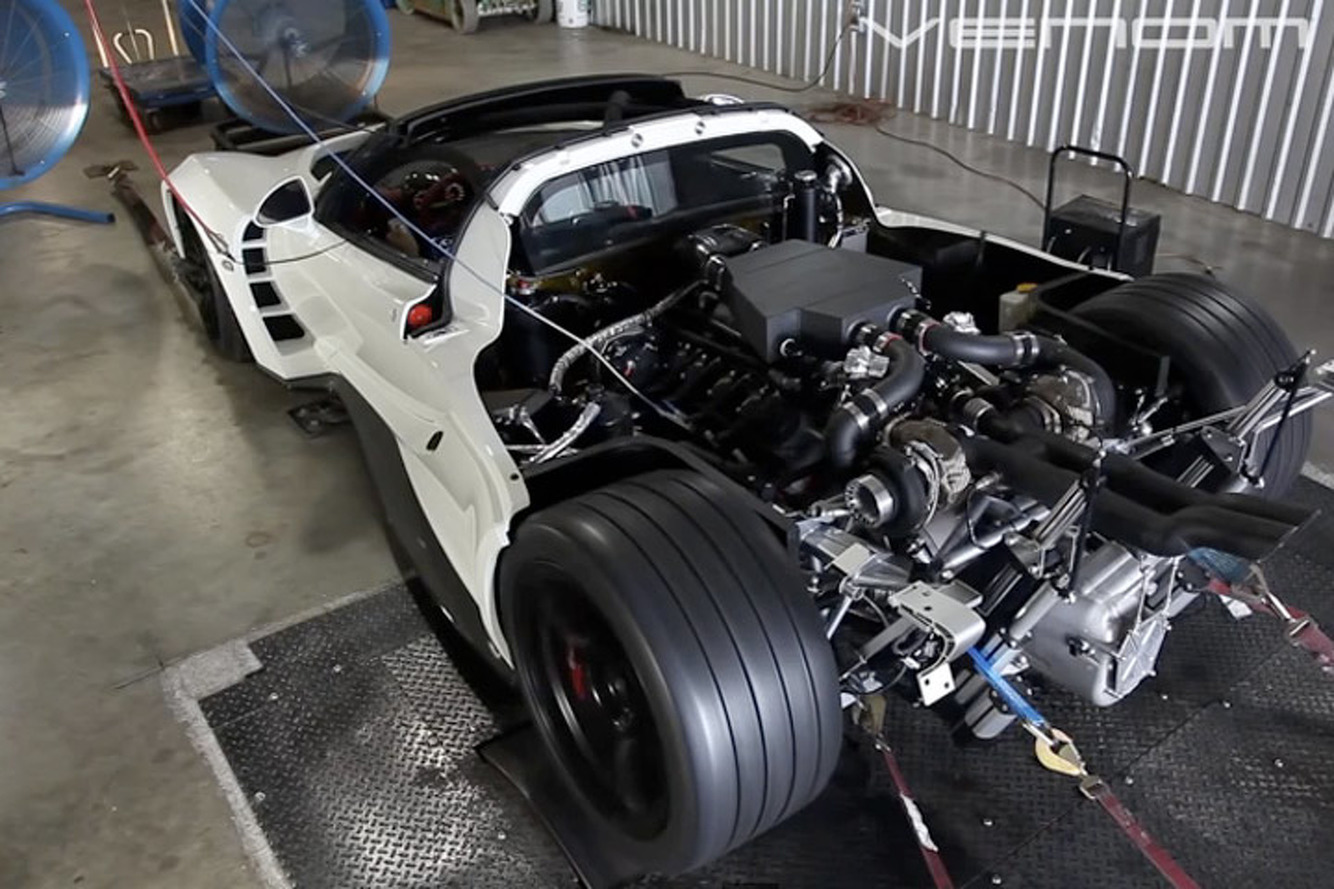 Watch a Hennessey Venom Spit Flames on the Dyno [Video]