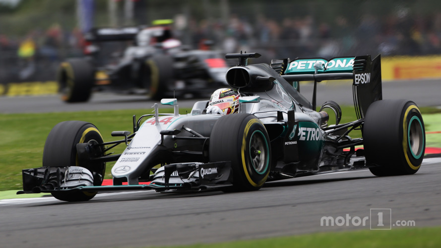 F1 British Grand Prix - Qualifying Results