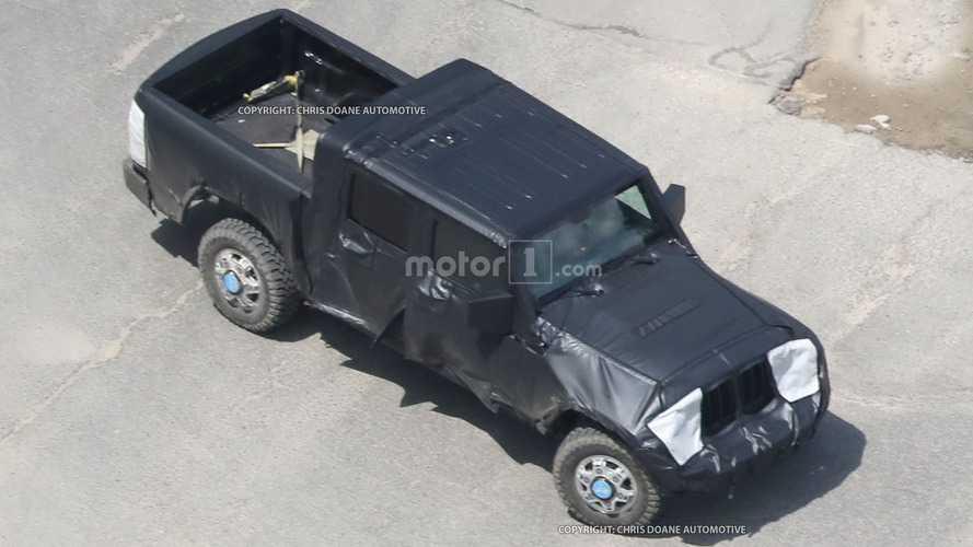 Un pick-up pour le Jeep Wrangler