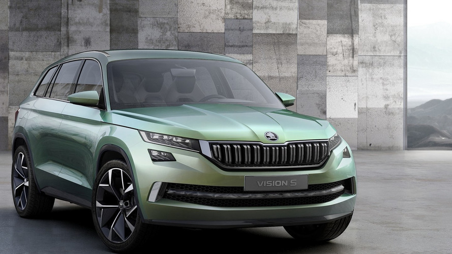 Skoda VisionS plug-in hybrid concept revealed with 225 hp