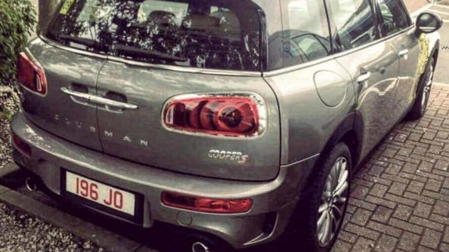 2016 MINI Clubman S photographed in the metal