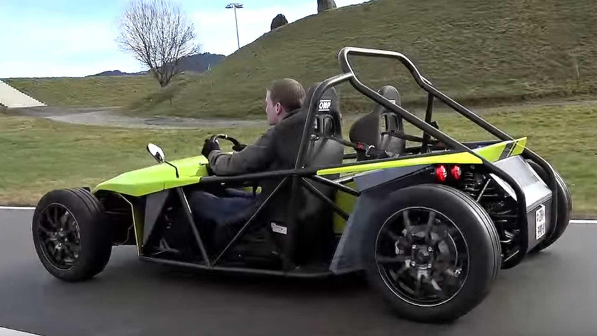 Adult electric go kart