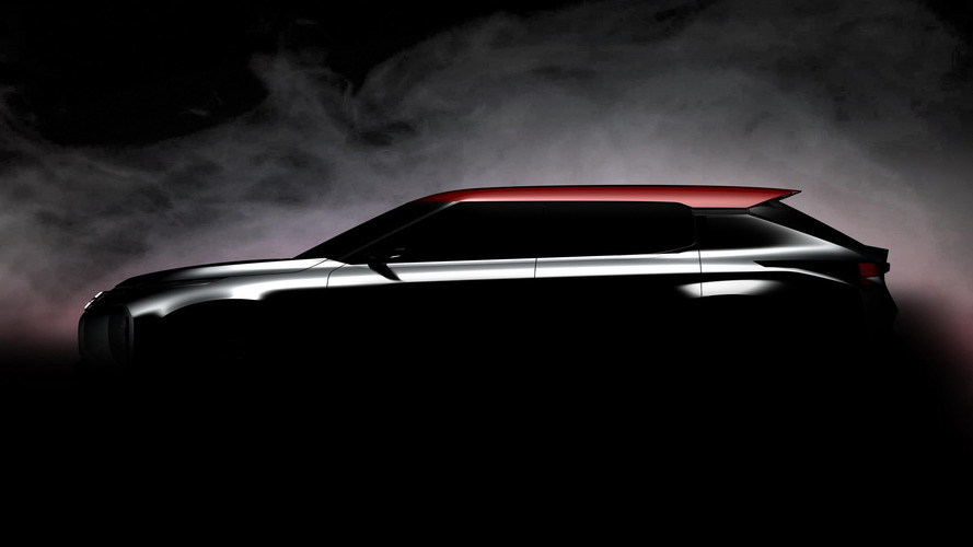 Mitsubishi teases Ground Tourer concept for Paris