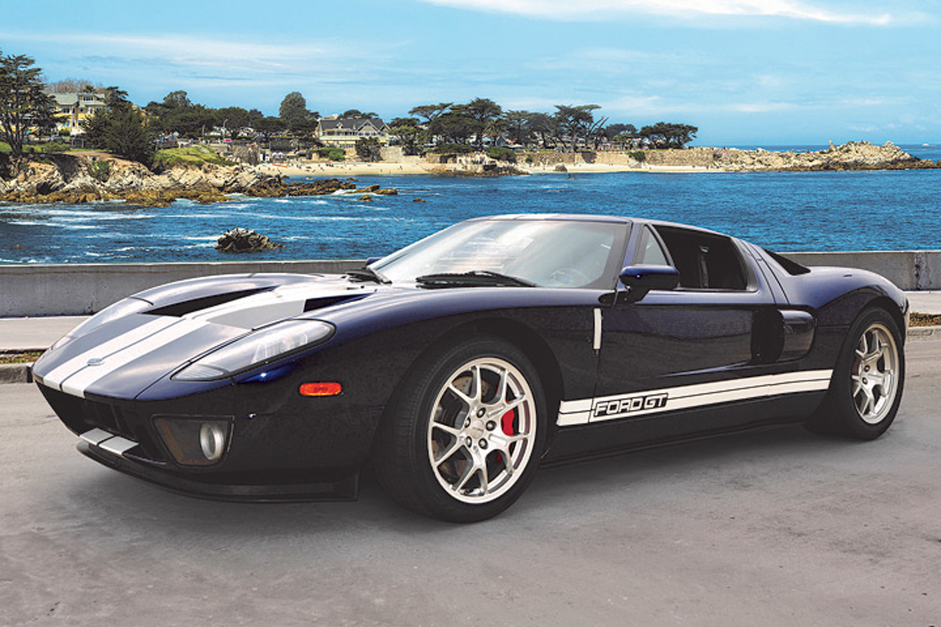 A rare 04 ford gt prototype comes up for sale