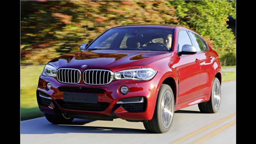 BMW X6 (2014) im Test: Dick im Geschäft