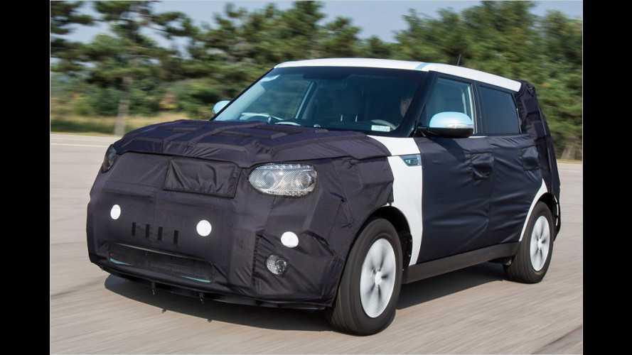 Kia Soul EV (2013) als Erlkönig angetestet: E-Auto startet 2014