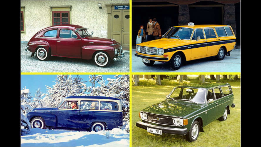Volvo-Historie: Die Geschichte der Kombis vom Duett bis zum V90