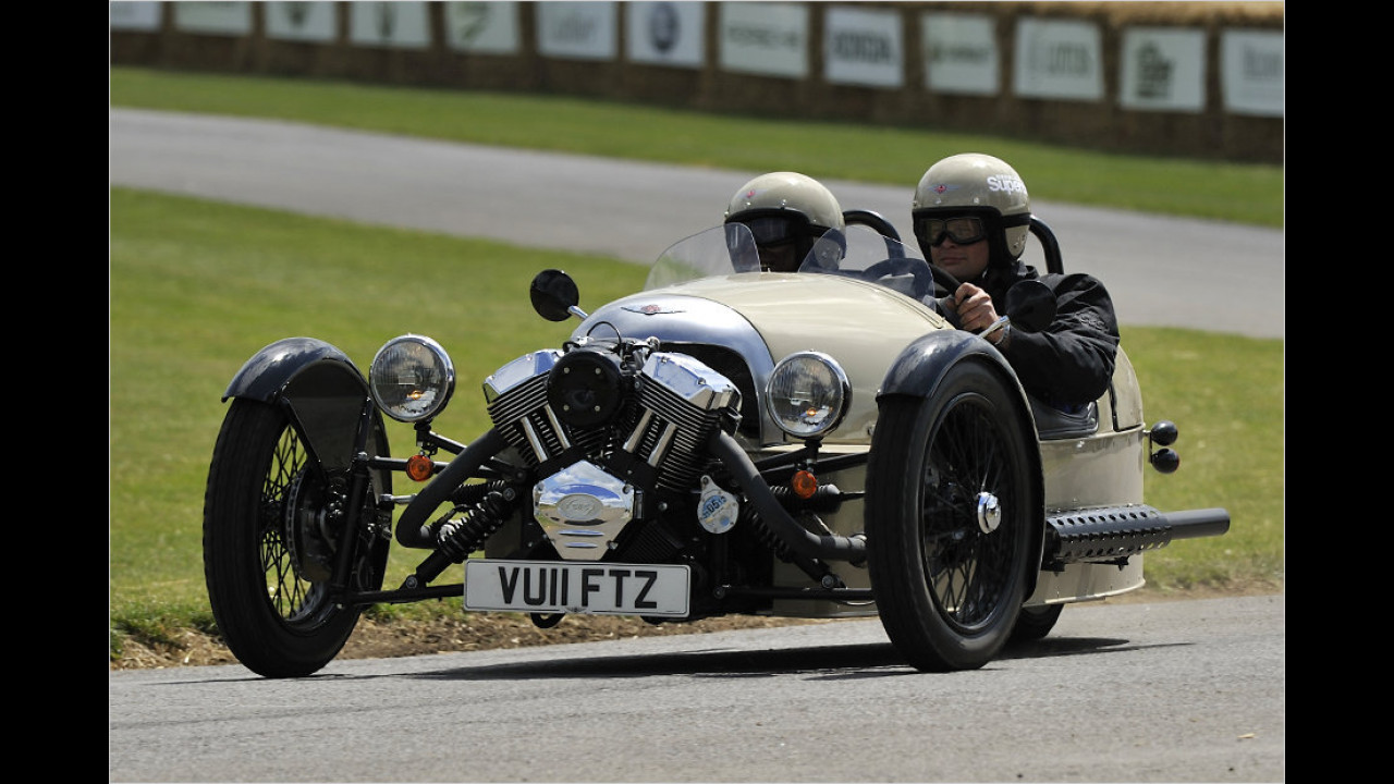 Morgan Threewheeler: 3,23 Meter