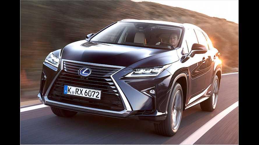 Lexus RX (2015): Neue Generation im Test