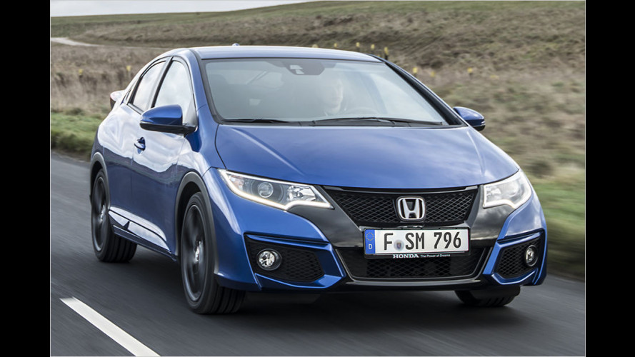 Honda Civic Facelift im Test