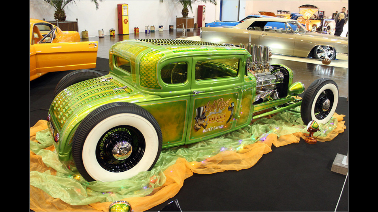 Ford A-Coupe Wild Green A von Heath Garage