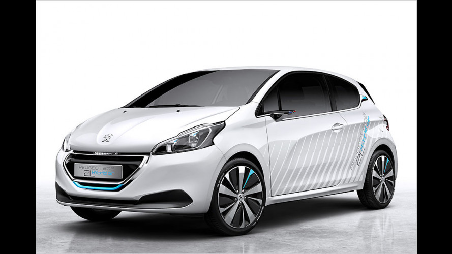 Peugeot 208 Hybrid Air 2L: Innovativer Luftantrieb