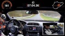 Jaguar XE SV Project 8 récord de Nürburgring