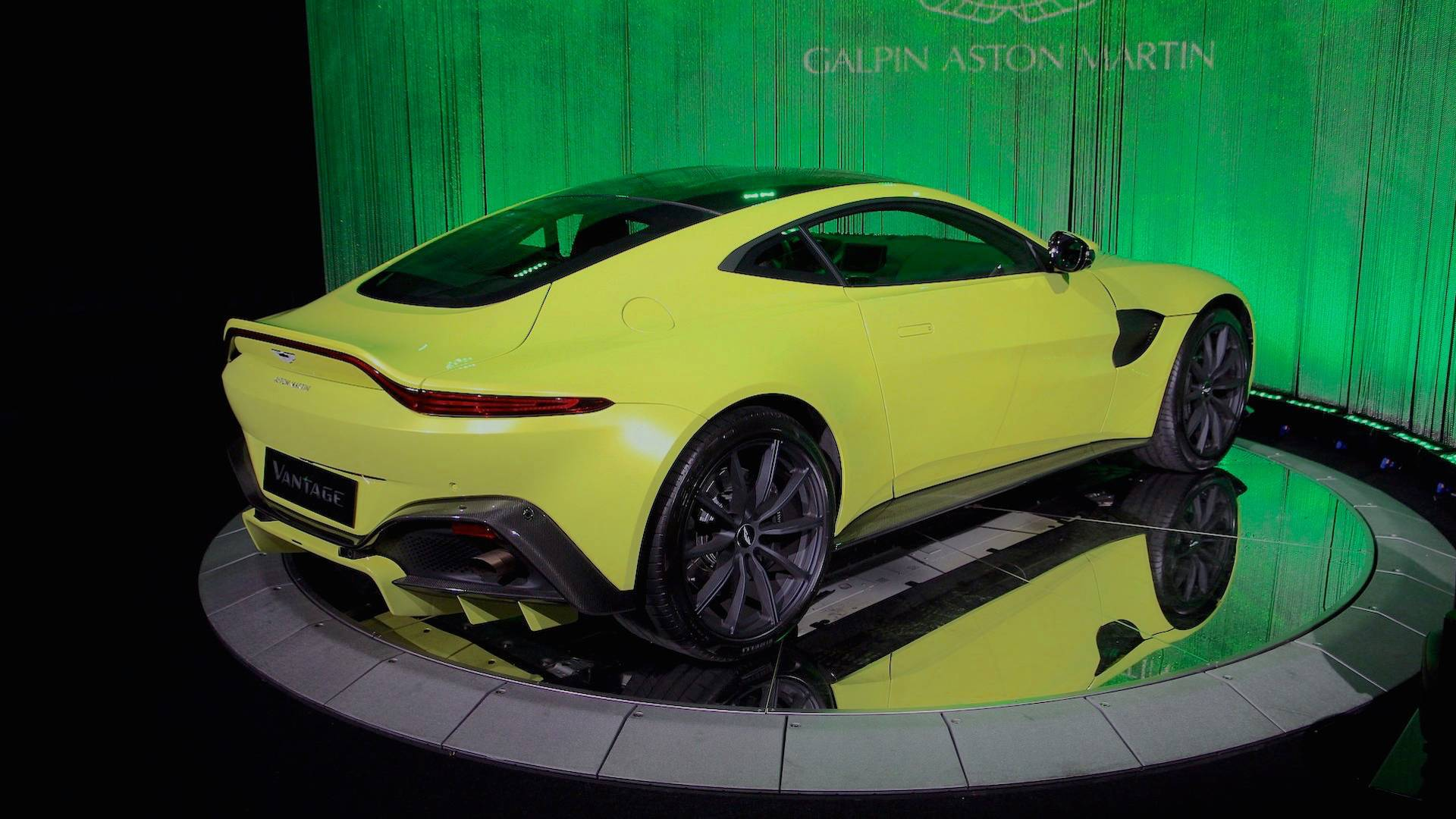 Aston Martin Says Vantage Exhaust Note Isn T As Crazy As Amg S