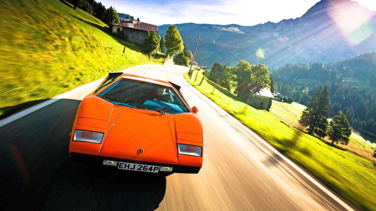 Lamborghini Countach, Cannonball Run