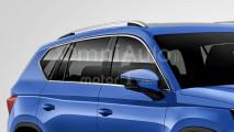 Seat SUV medio, il rendering