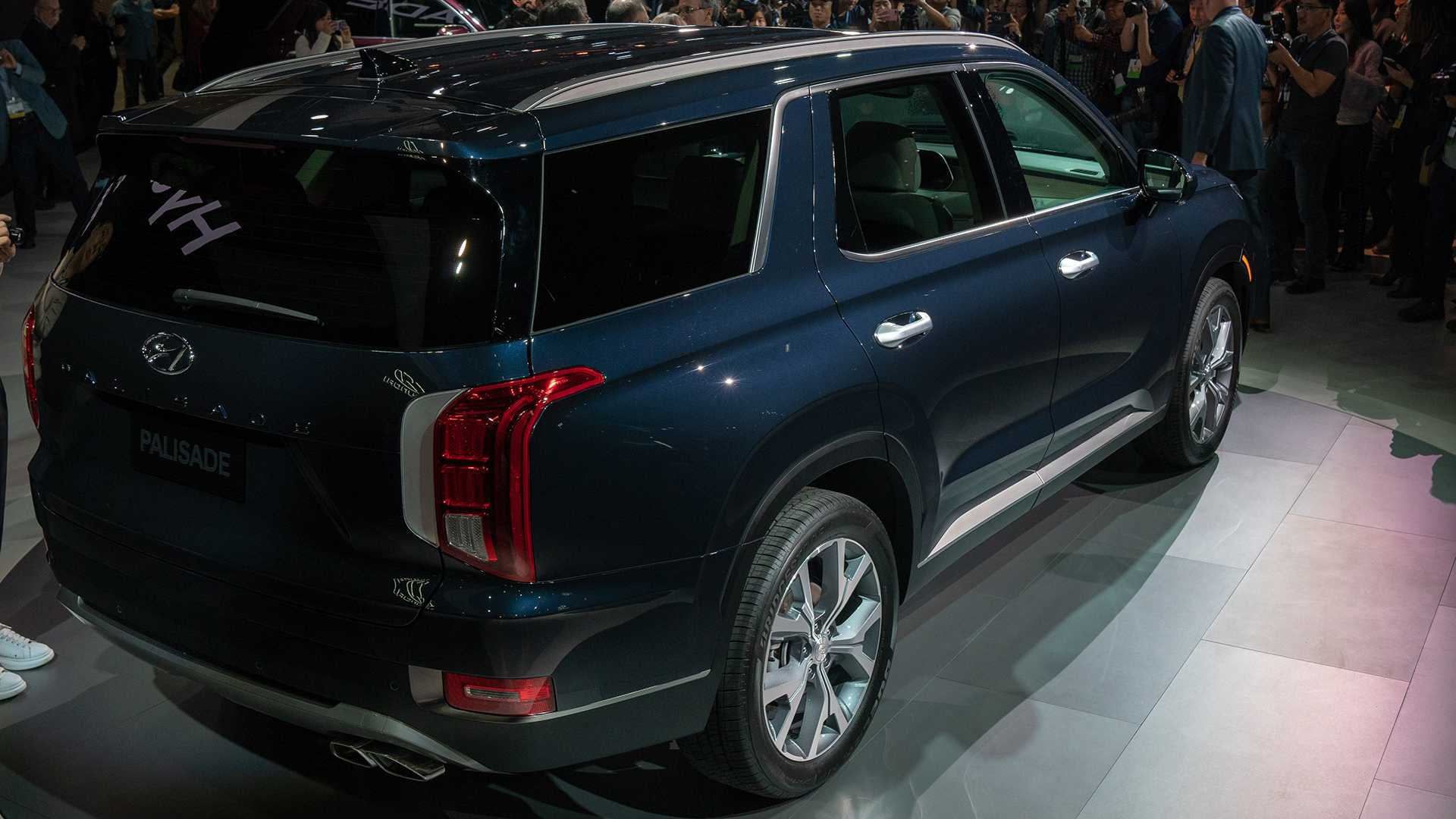 2020 Hyundai Palisade Debuts With Bold Design And 8 Seats Update