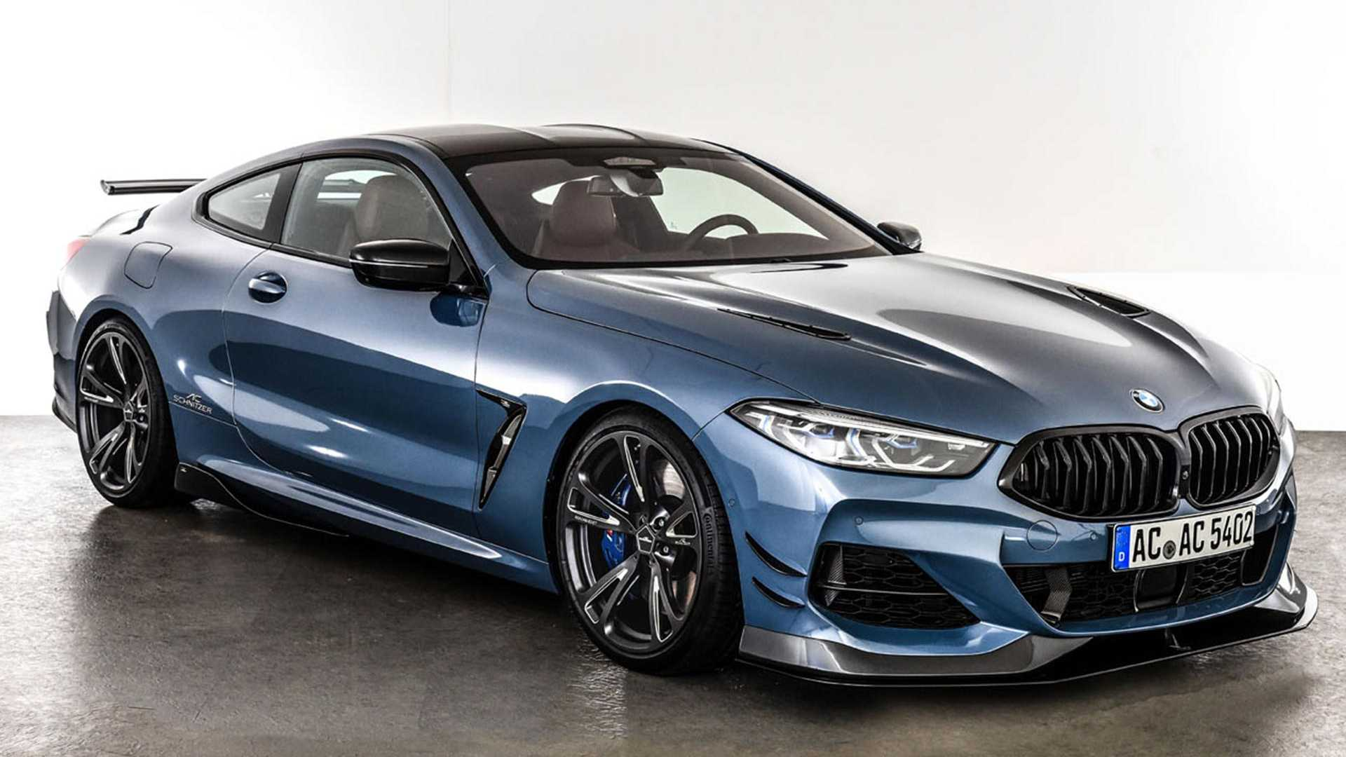Bmw 8 Series Coupe Gets Aggressive Design From Ac Schnitzer