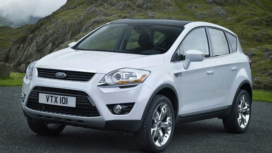 Ford Kuga Concept Revealed Ahead of Frankfurt
