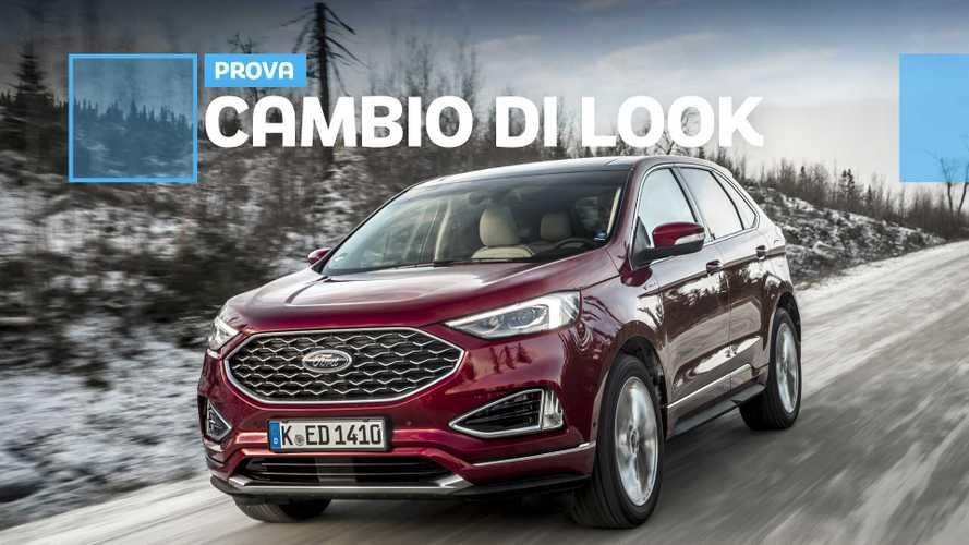 Ford Edge, con il restyling lo stile diventa più europeo