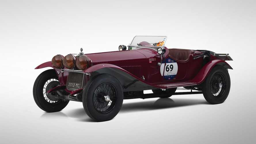 Ex-Scuderia Ferrari 1930 Alfa Romeo 6C Set for Paris sale