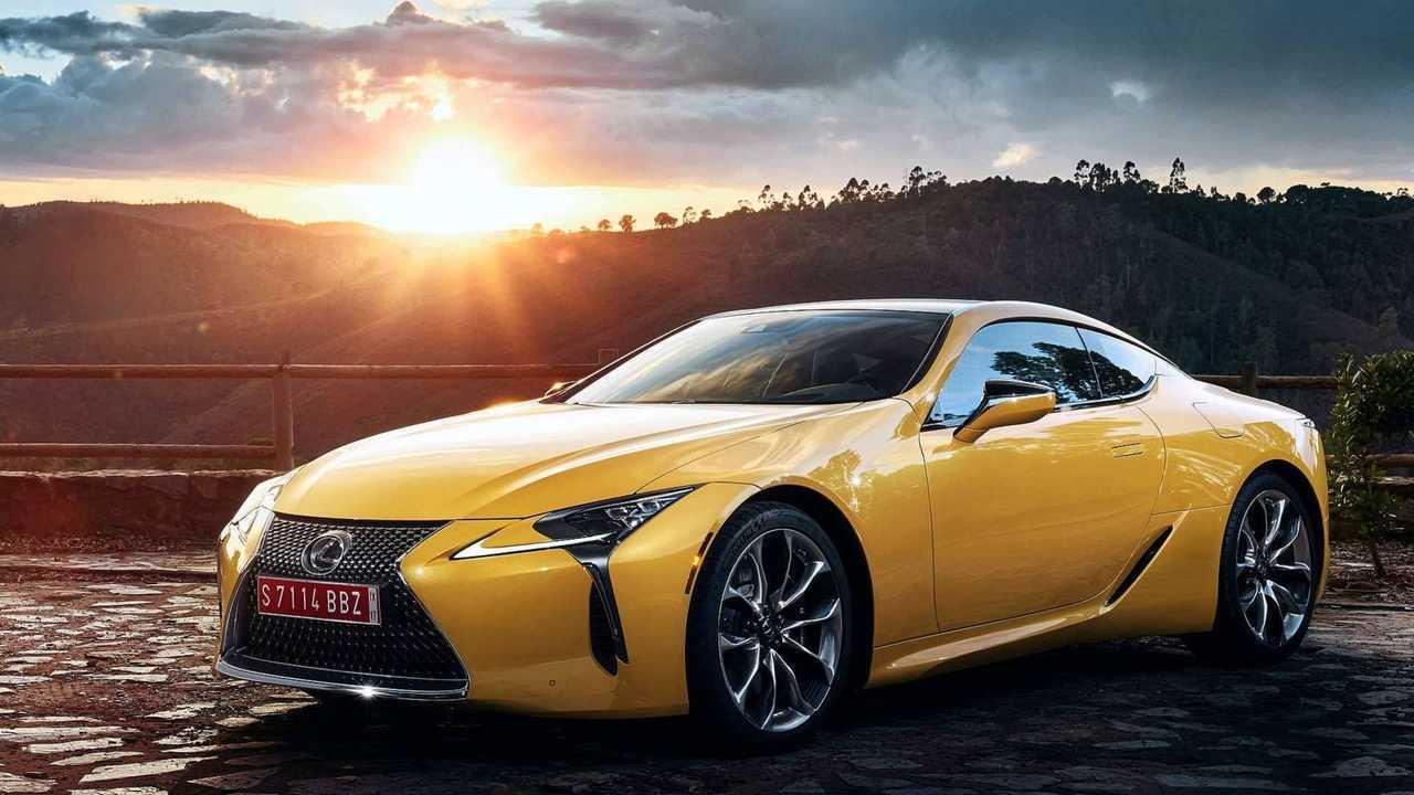 10. Lexus LC: 1,979 units