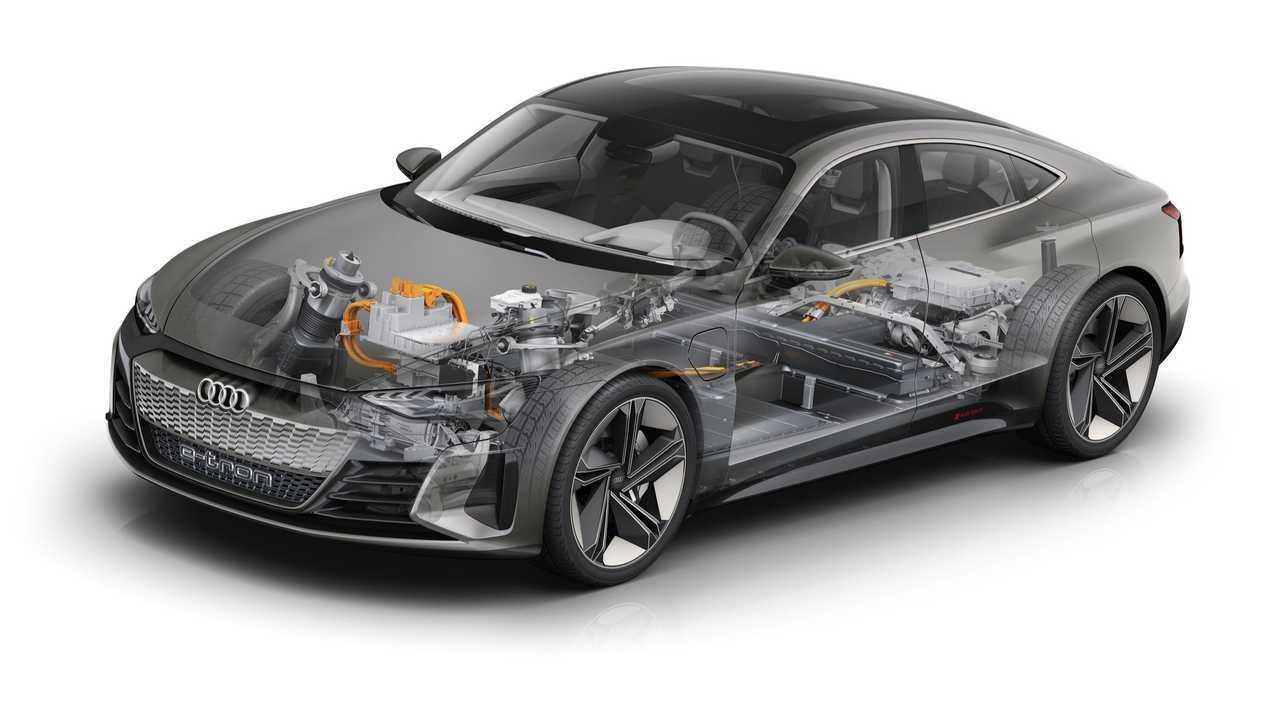 Audi E-Tron Kesit