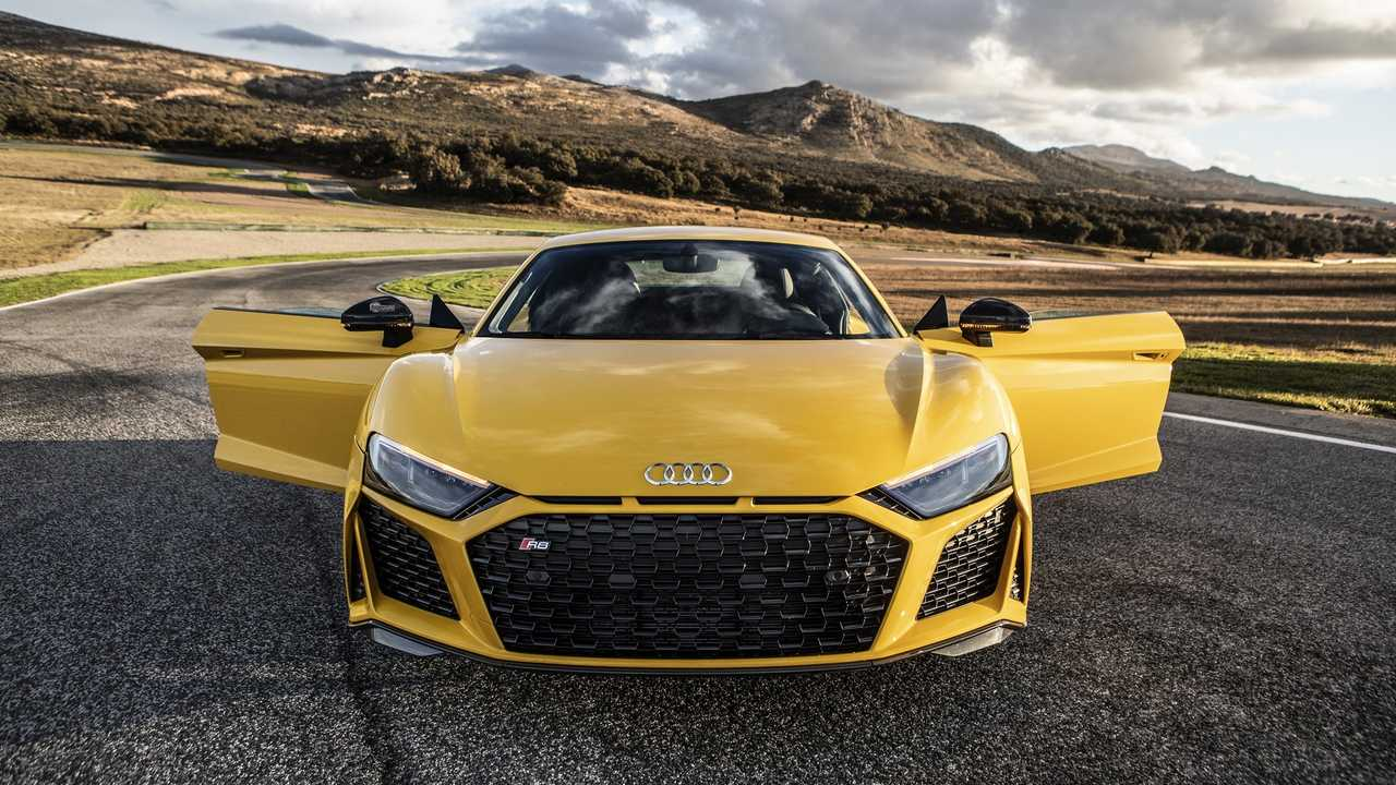 2019 Audi R8 V10 Performance Quattro Vegas Yellow | Motor1.com Photos