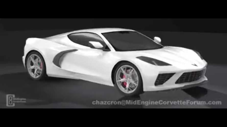 Ortadan motorlu Corvette böyle görünebilir