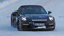 Porsche nuova 911 Turbo Cabrio foto spia