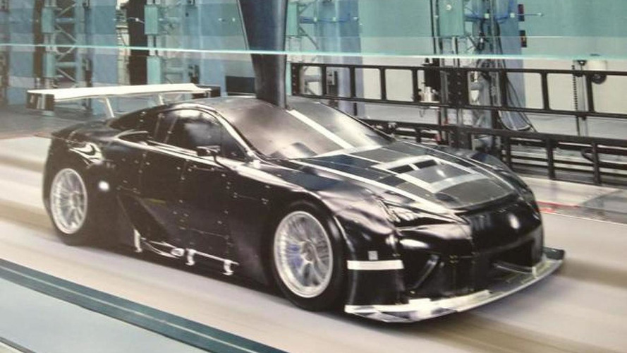Possible Lexus LFA GTE racer photo tweeted