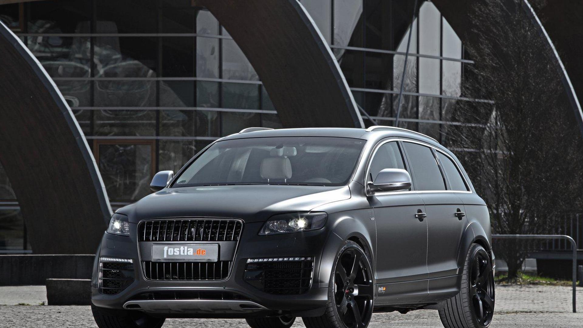 Audi Q7 Specs >> Diesel Audi Q7 With 600 Hp By Fostla