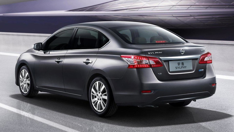 Nissan Sylphy revealed in Beijing - previews new Sentra for US