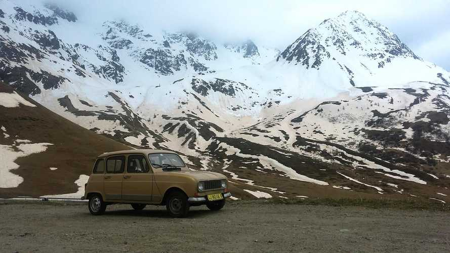 Bangernomics: Taking on the Alps in a Renault 4